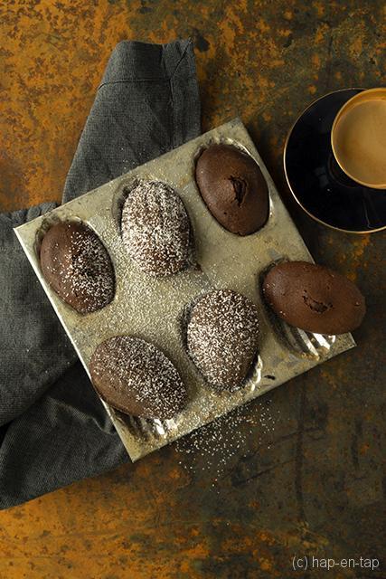 Vanille-mokka madeleines