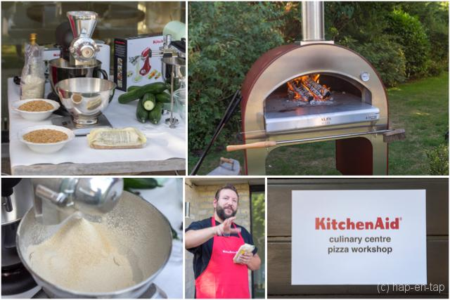 De perfecte pizza powered by pizzaiolo Gilles Draps & KitchenAid