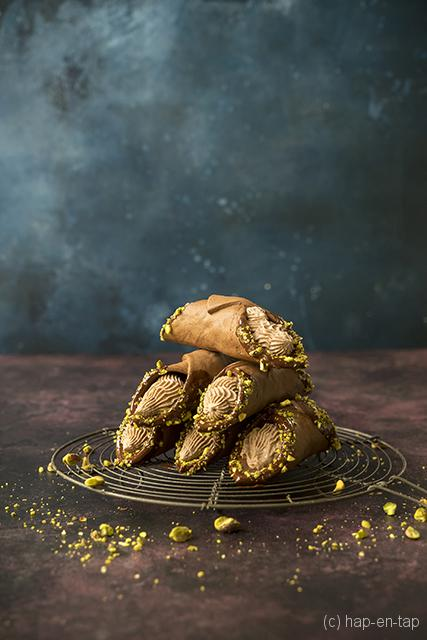 Chocolade cannoli