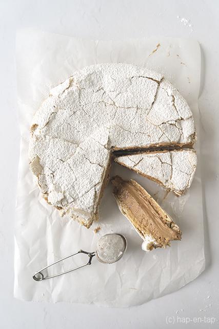 Mokka-meringuetaart