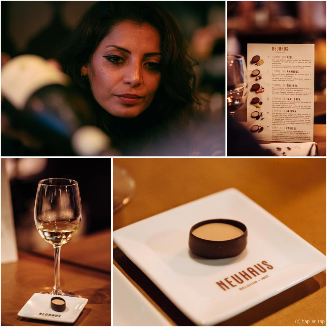 Neuhaus innoveert met Wine Pairing collectie