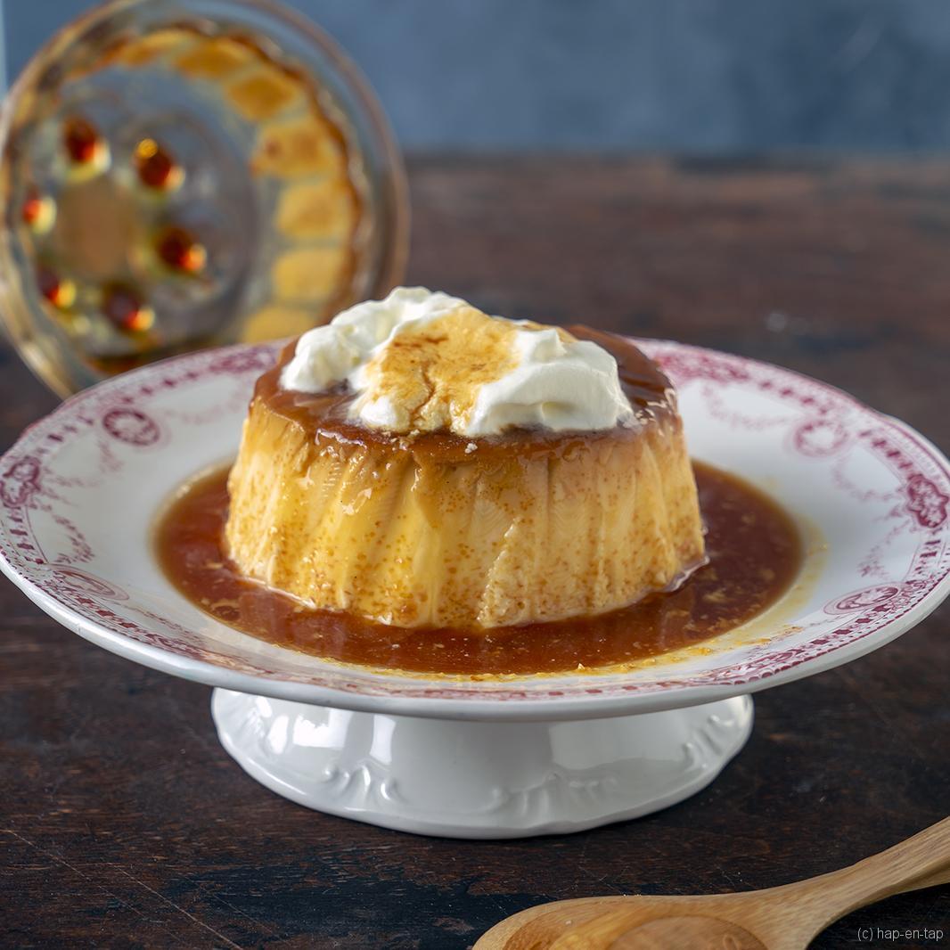 Crème au caramel van Julia Child