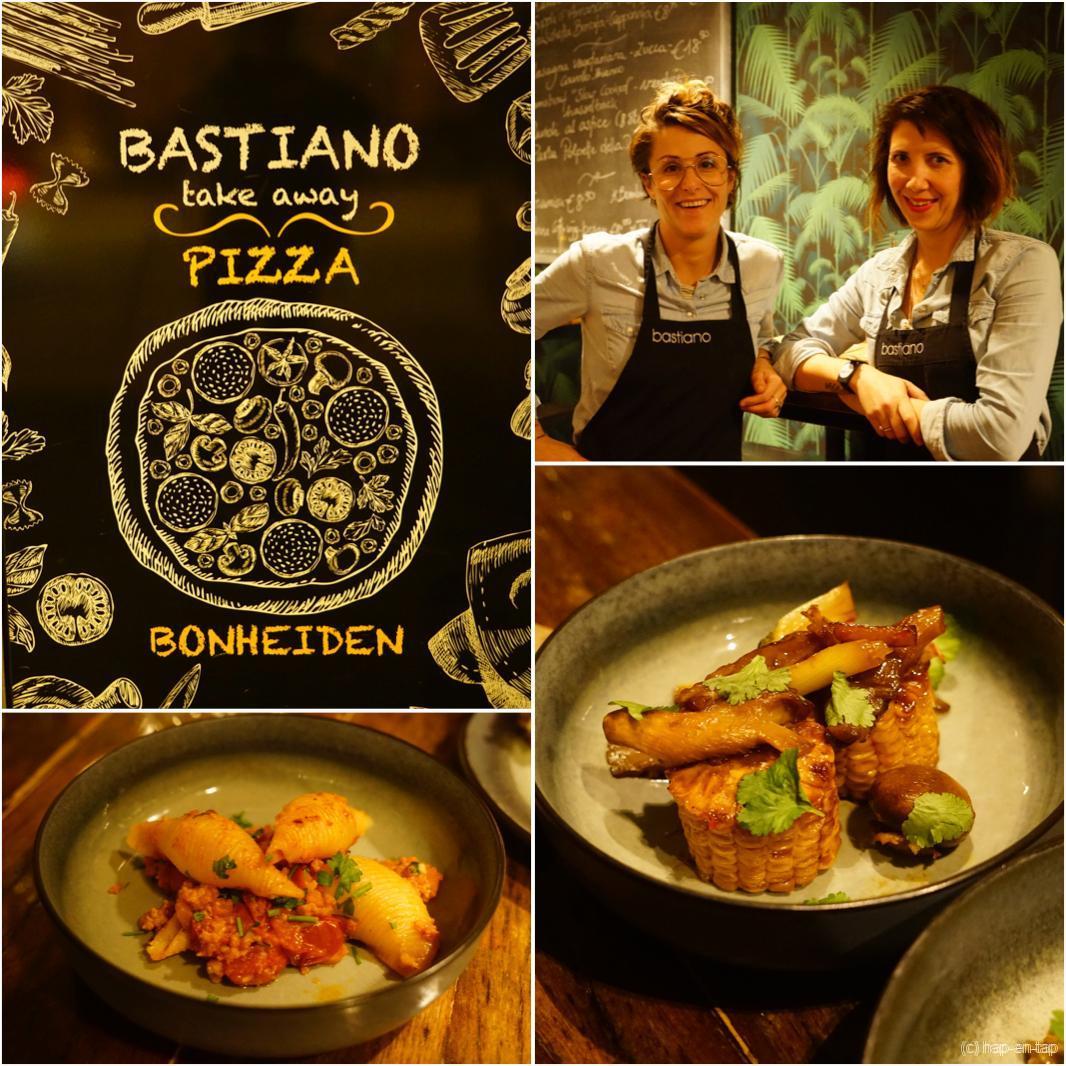 Bastiano in Bonheiden, Italiaanse keuken met ballen
