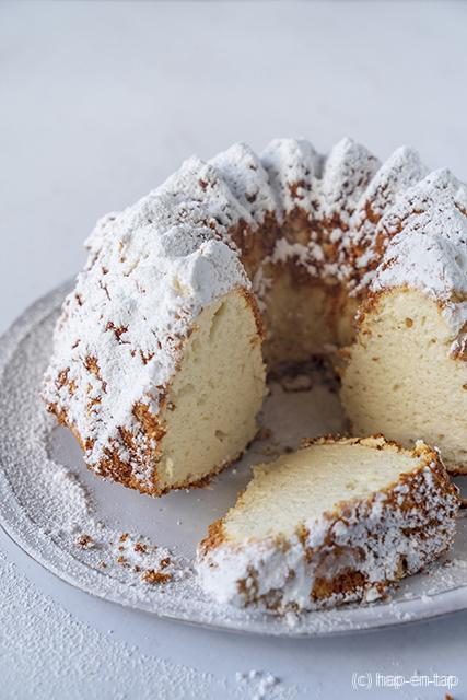 Zachte biscuittulband met vanille