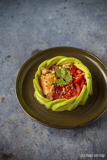 Spicy avocadosalade