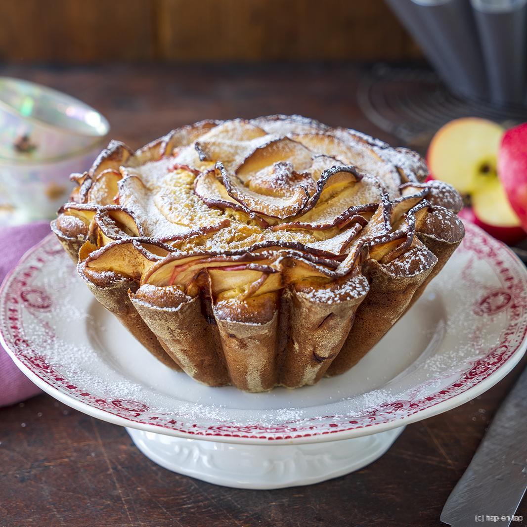 Appelcake met mascarpone
