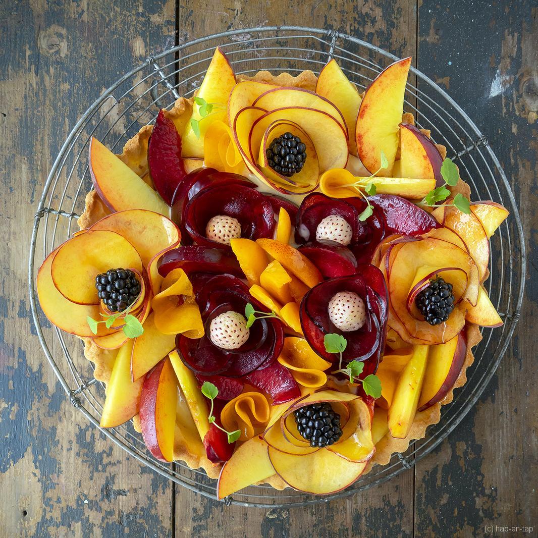 Gemengd fruittaartje