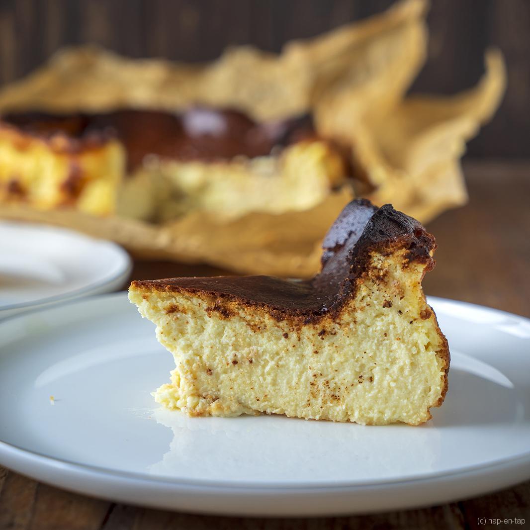 Baskische 'burnt' cheesecake