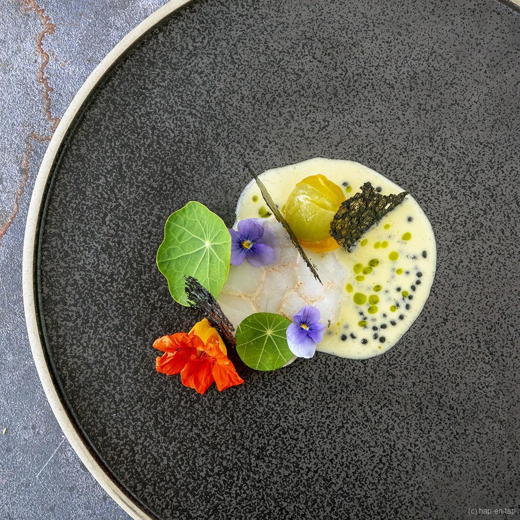 Kabeljauw met prosecco beurre blanc