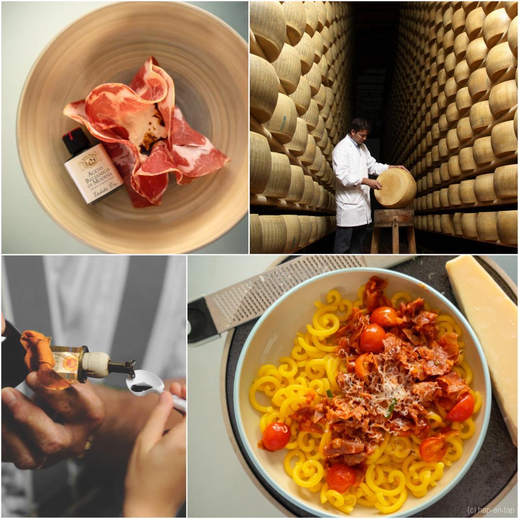 Emilia-Romagna, hét mekka van de gastronomie (en snelle auto's)