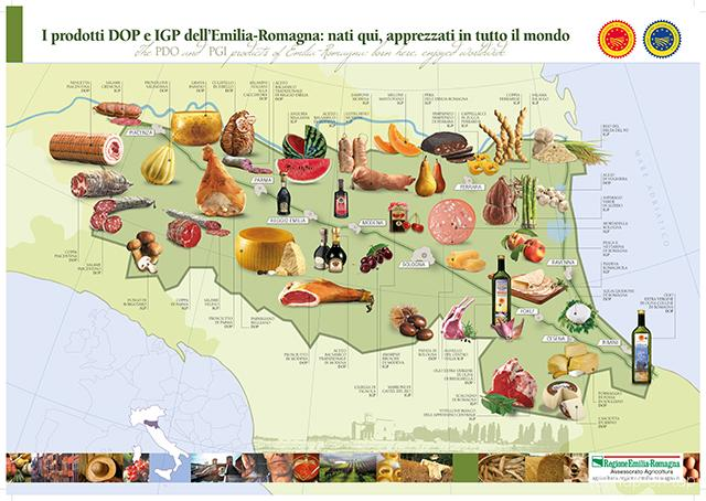 Emilia Romagna, hét mekka van de gastronomie (en snelle auto's)