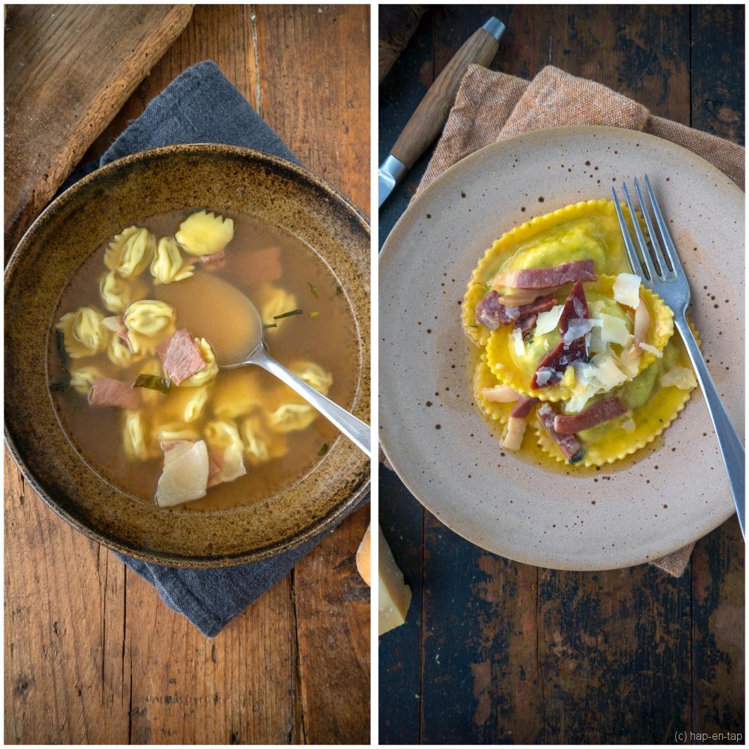 Proef de Parmezaanse keuken met 2 recepten van Peppe